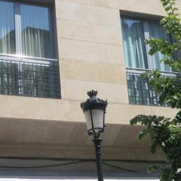 Balcón de acero e inox