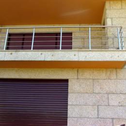 Balcón de inox