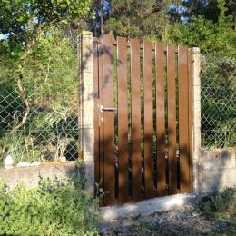 Puerta cierre en inox