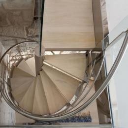 Detalle 2 escalera de caracol