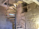 Detalle 1 escalera de caracol