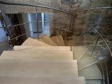 Detalle 1 escalera helicoidal