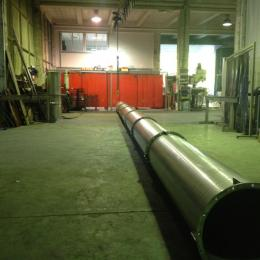 Fabricación chimenea inox
